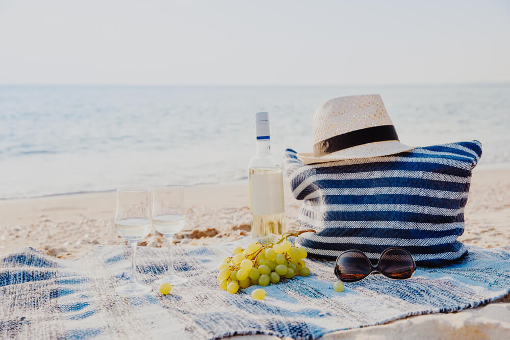 Photo of a Picnic in the Park (the Beach)
